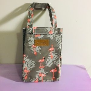 Flamingos Lunch Cooler bag Insulated Waterproof